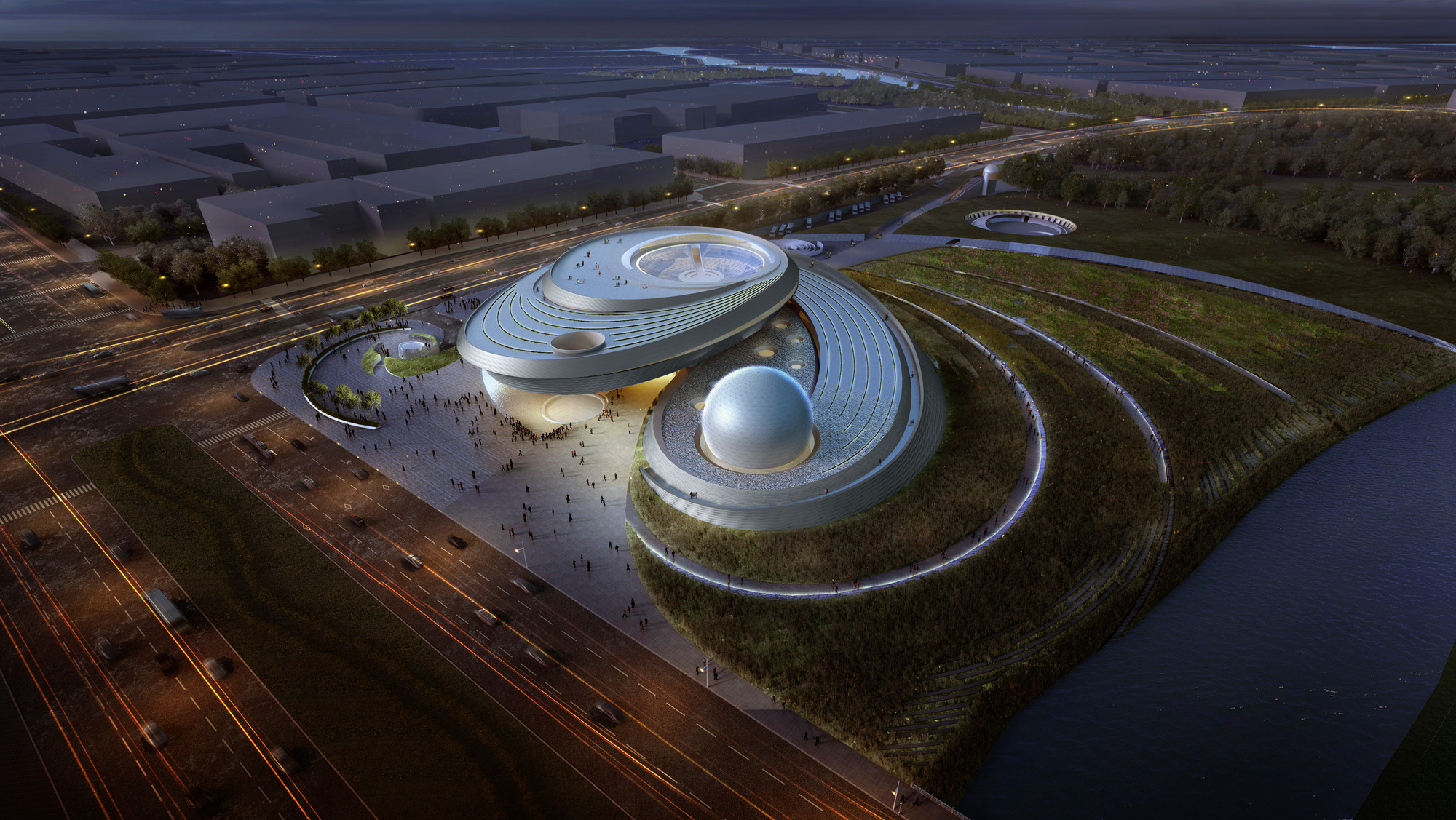 Ennead Tapped to Design Shanghai Planetarium, © Thomas Wong / Ennead Architects