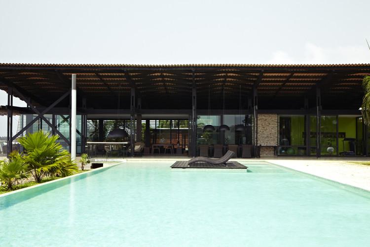 Casa Ebrah / Koffi & Diabaté Architectes, © François-Xavier Gbré