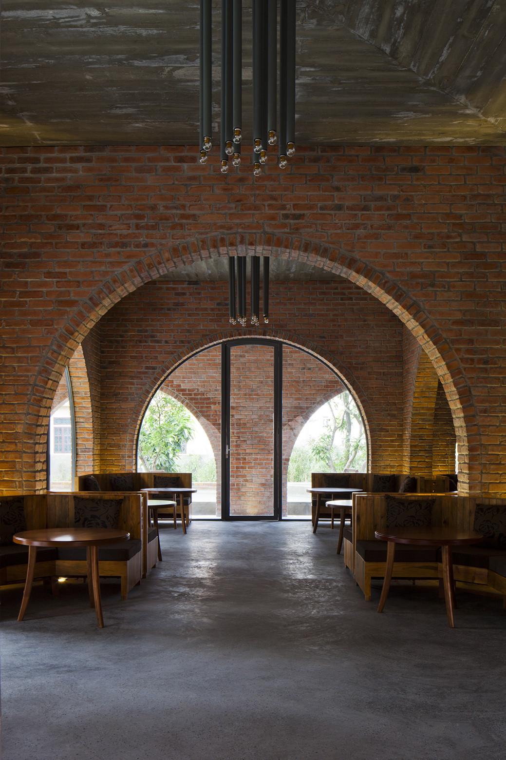 Gallery of f coffee wangstudio 10 for Internal arch