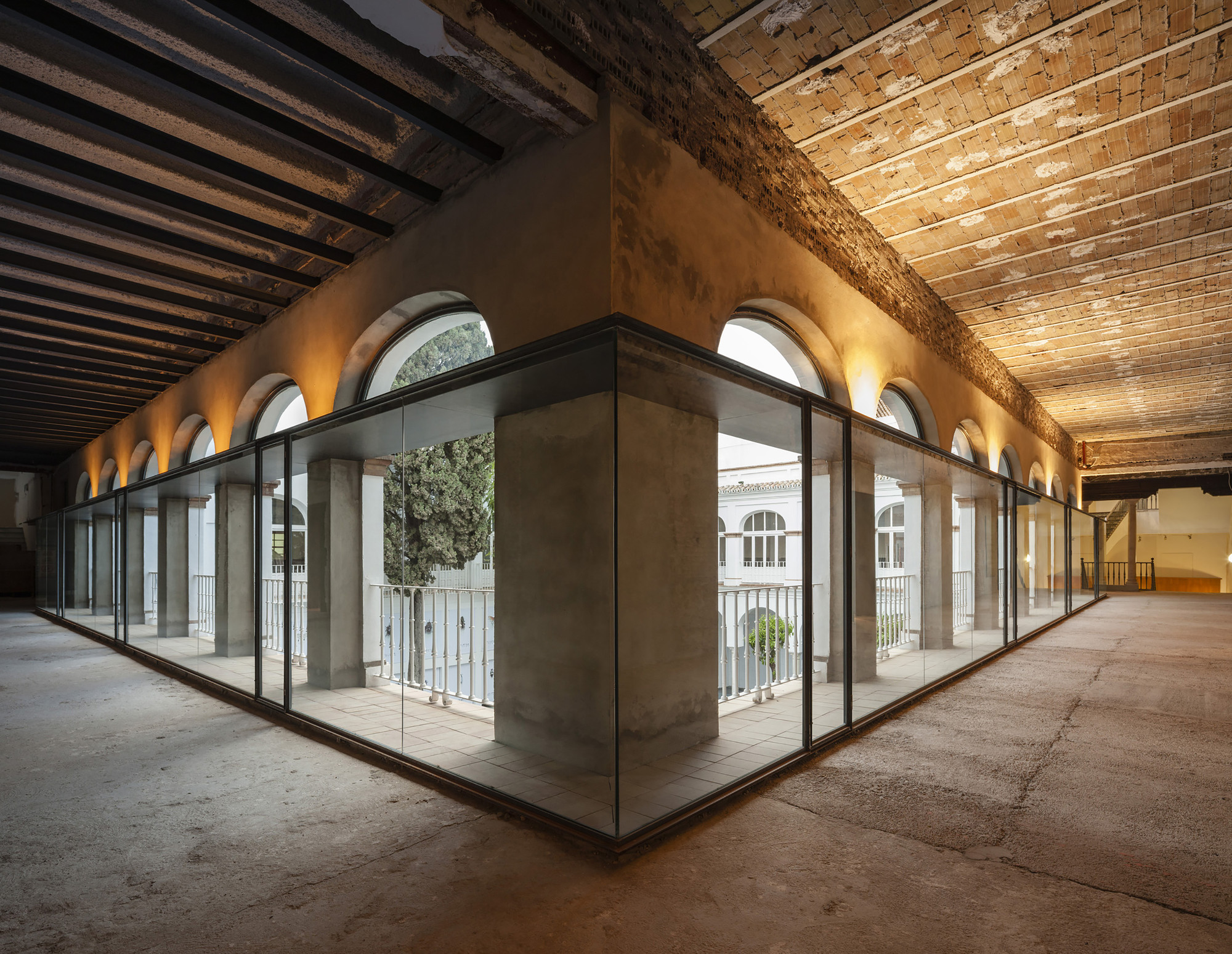 Gallery Of Contemporary Art Space In The Old Convent Of