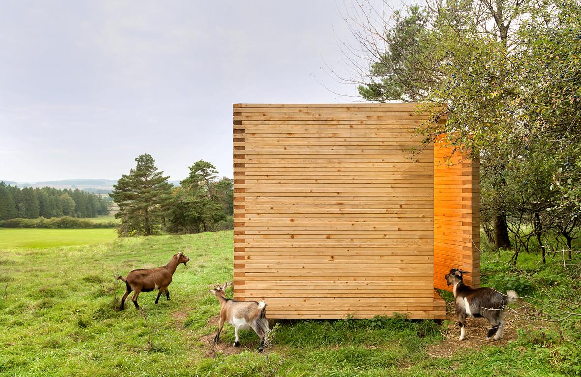 Granero de Cabras en Bavaria / KÜHNLEIN Architektur, © Erich Spahn