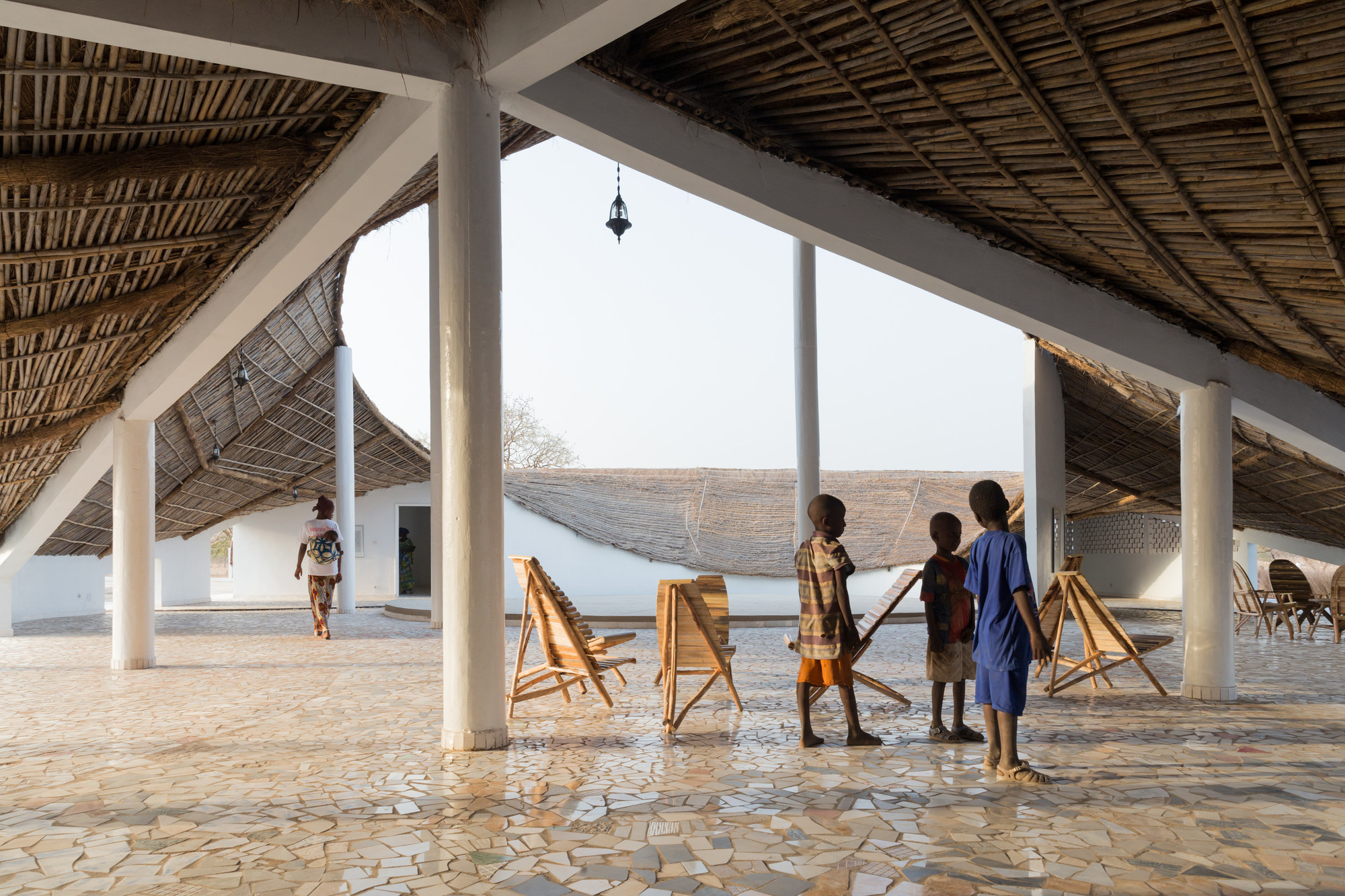 New Artist Residency In Senegal / Toshiko Mori, © Iwan Baan