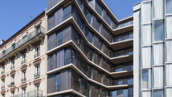 Rue Du Chateau Des Rentiers' Housing / Explorations Architecture