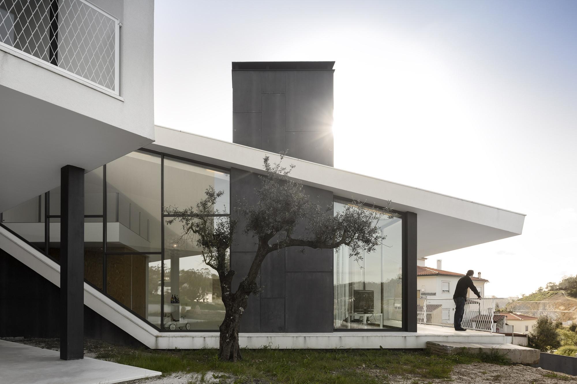 Galeria de casa vidigal contaminar arquitectos 8 for Arquitectos para casas