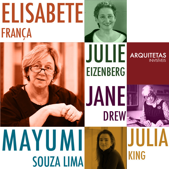 'Arquitetas Invisíveis' reconocen a 48 mujeres en la arquitectura: arquitetura social, Cortesía de Arquitetas Invisíveis