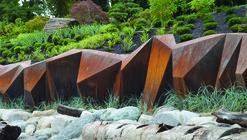 Paisaje y Arquitectura: Metamorphous, una escultura de acero cortén en medio del paisaje