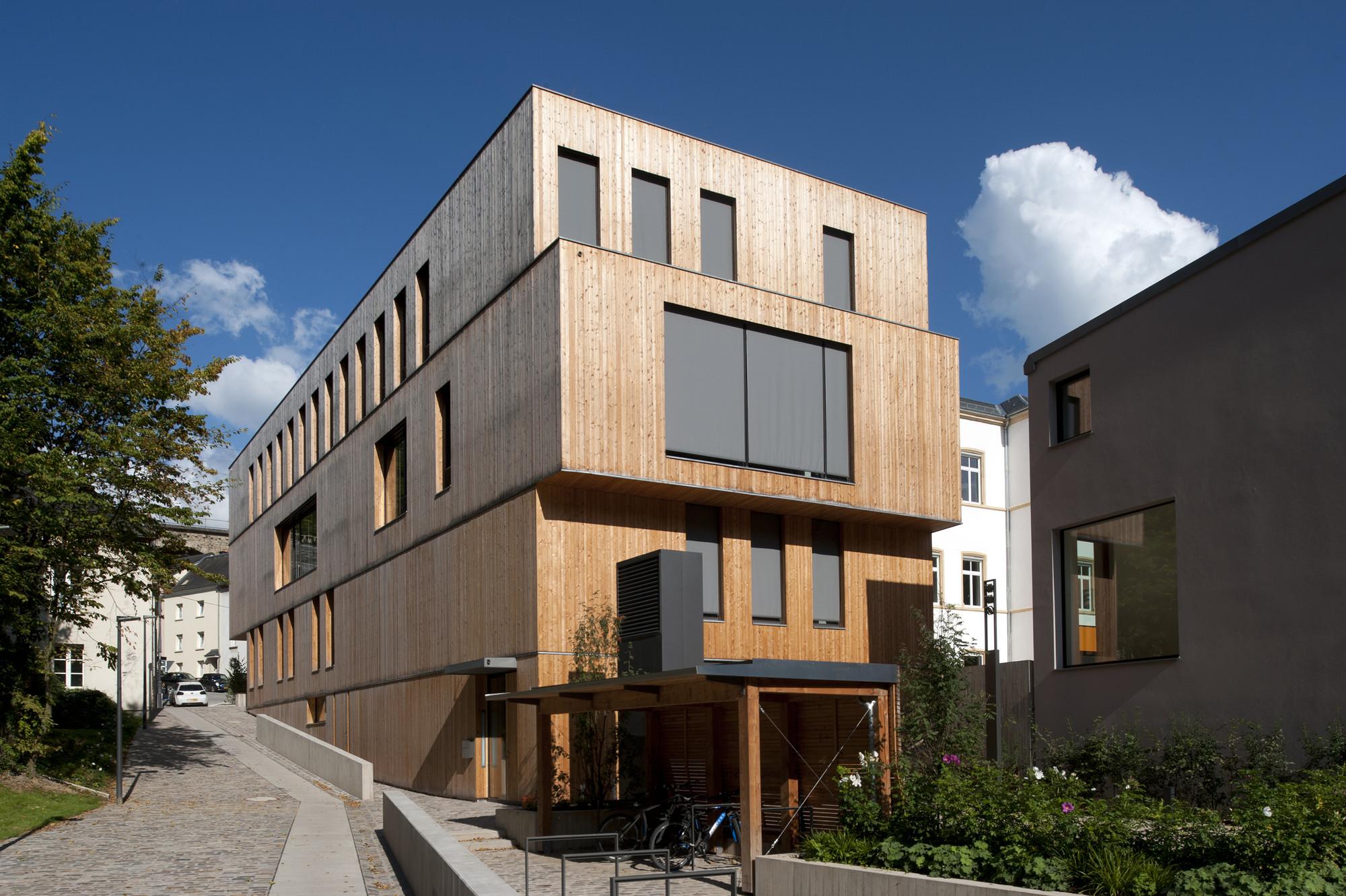 Administrative Building For The Oeko-Center / STEINMETZDEMEYER, © Catherine Thiry