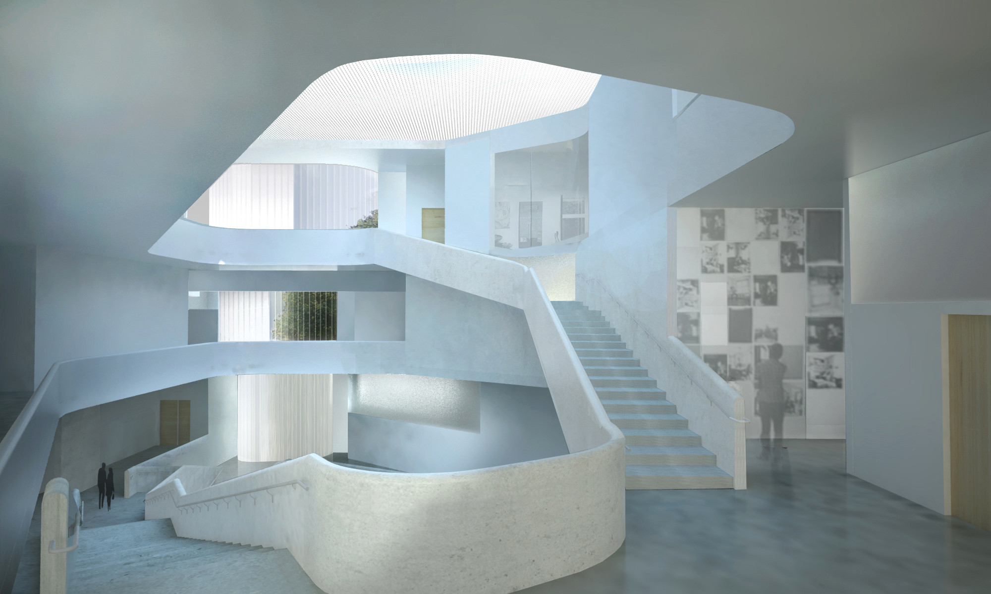 Steven Holl Architects Tops Out Visual Arts Building For University Of Iowa Archdaily