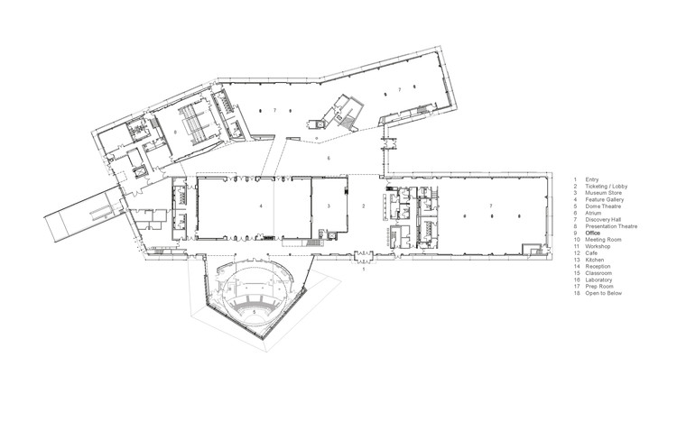Telus spark dialog archdaily for Winery floor plans by architects