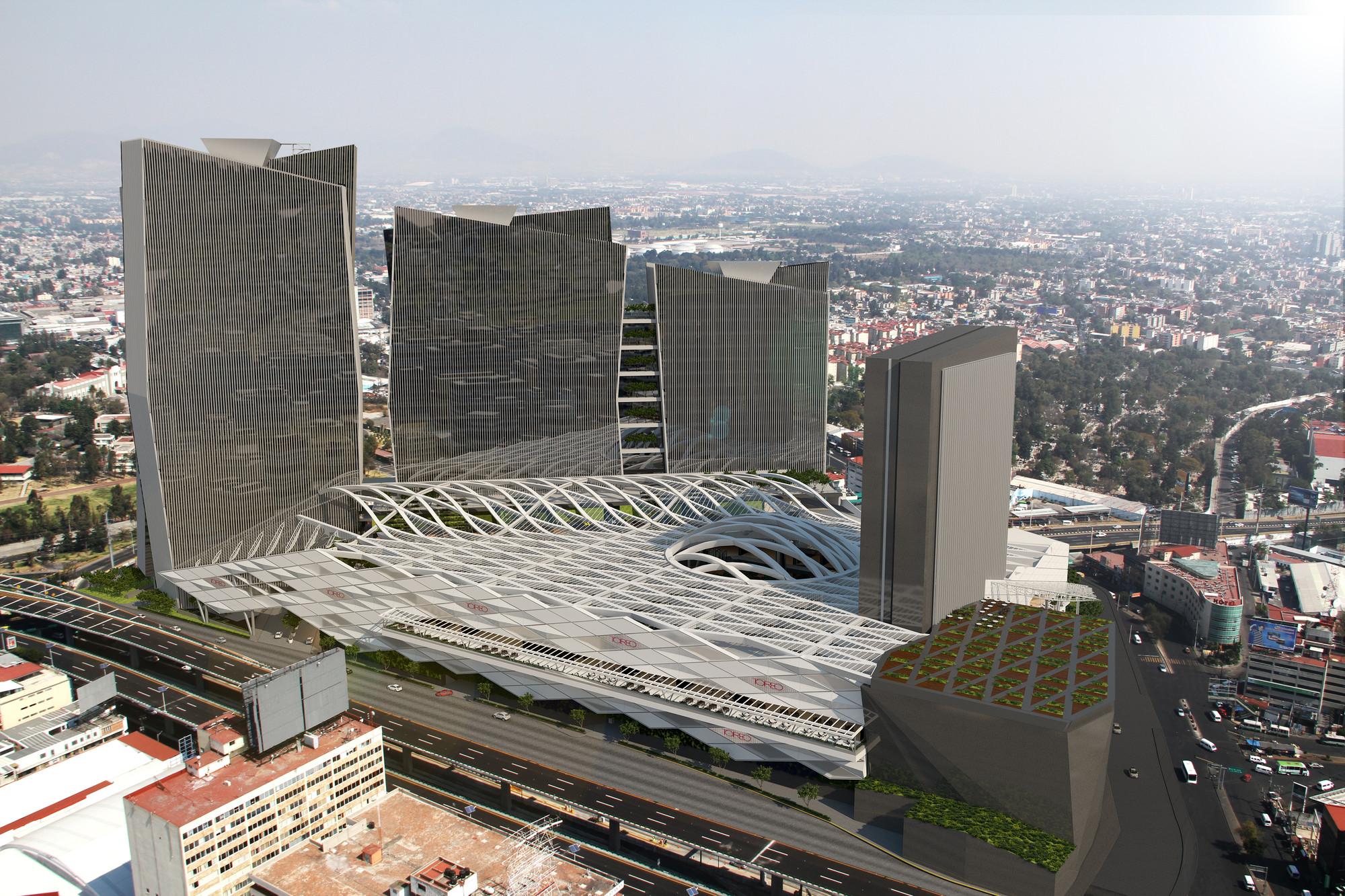 © Sordo Madaleno Arquitectos. Render por 3Difica