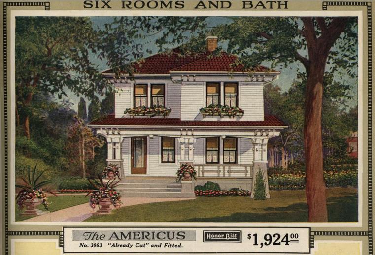 Honor bilt modern homes (1921). Image Courtesy of Openlibrary.org