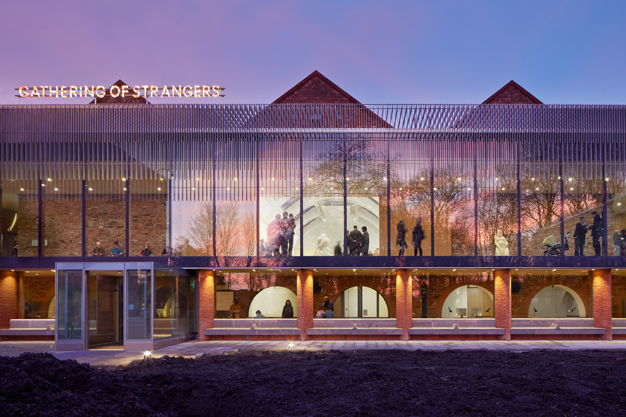 Shortlist Announced For 2015 RIBA North West Awards, Shortlisted: The Whitworth, Manchester / MUMA. Image © Alan Williams
