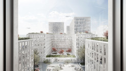 "WAA Wins Competition to Design ""Am Hirschgarten"" in Munich"
