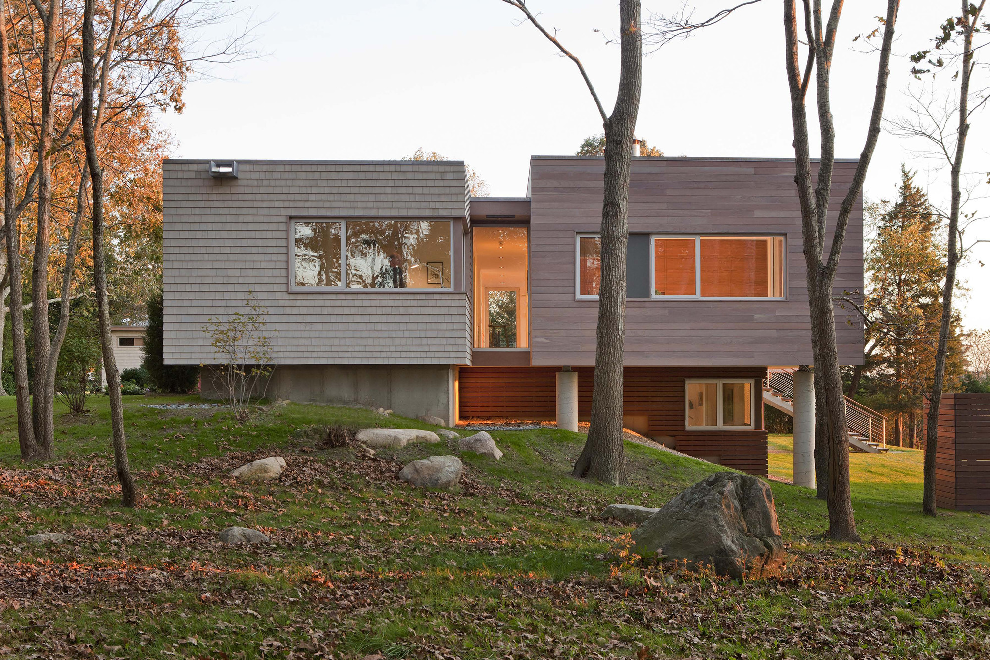 Casa en el Río Westport / RUHL WALKER Architects, © Peter Vanderwarker