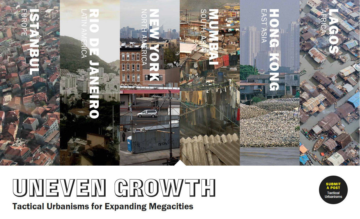 Uneven Growth: comparte tus ideas sobre urbanismo táctico con MoMA, © Uneven Growth