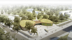 nps tchoban voss and Hager Partner Design Recreation Center for Nauen