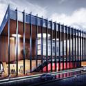 Mallol & Mallol Arquitectos diseñará nueva sede del CAF en Panamá Cortesia de Mallol & Mallol Arquitectos