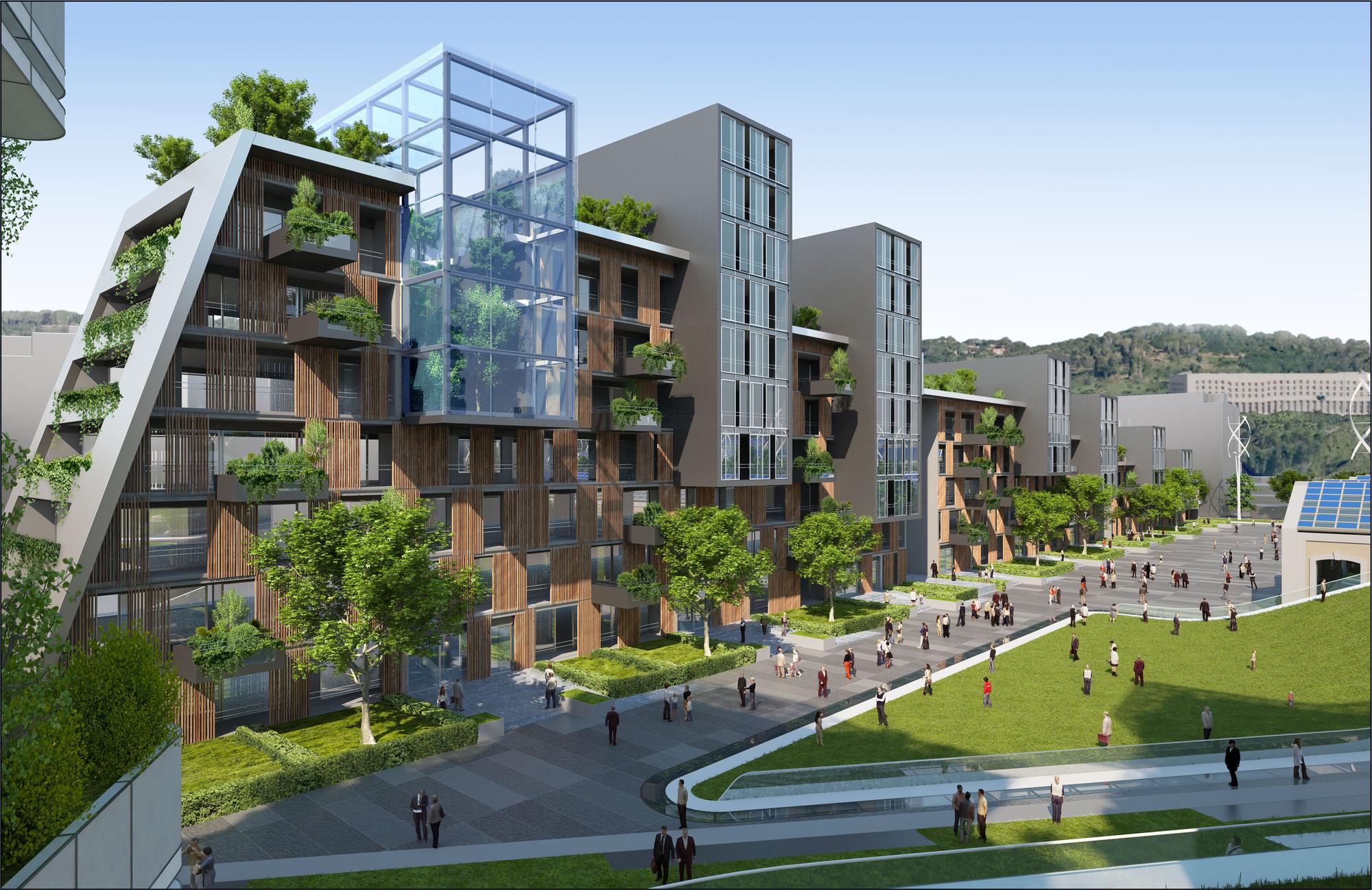 Citt della scienza masterplan predicts future of self for Atlanta residential architects