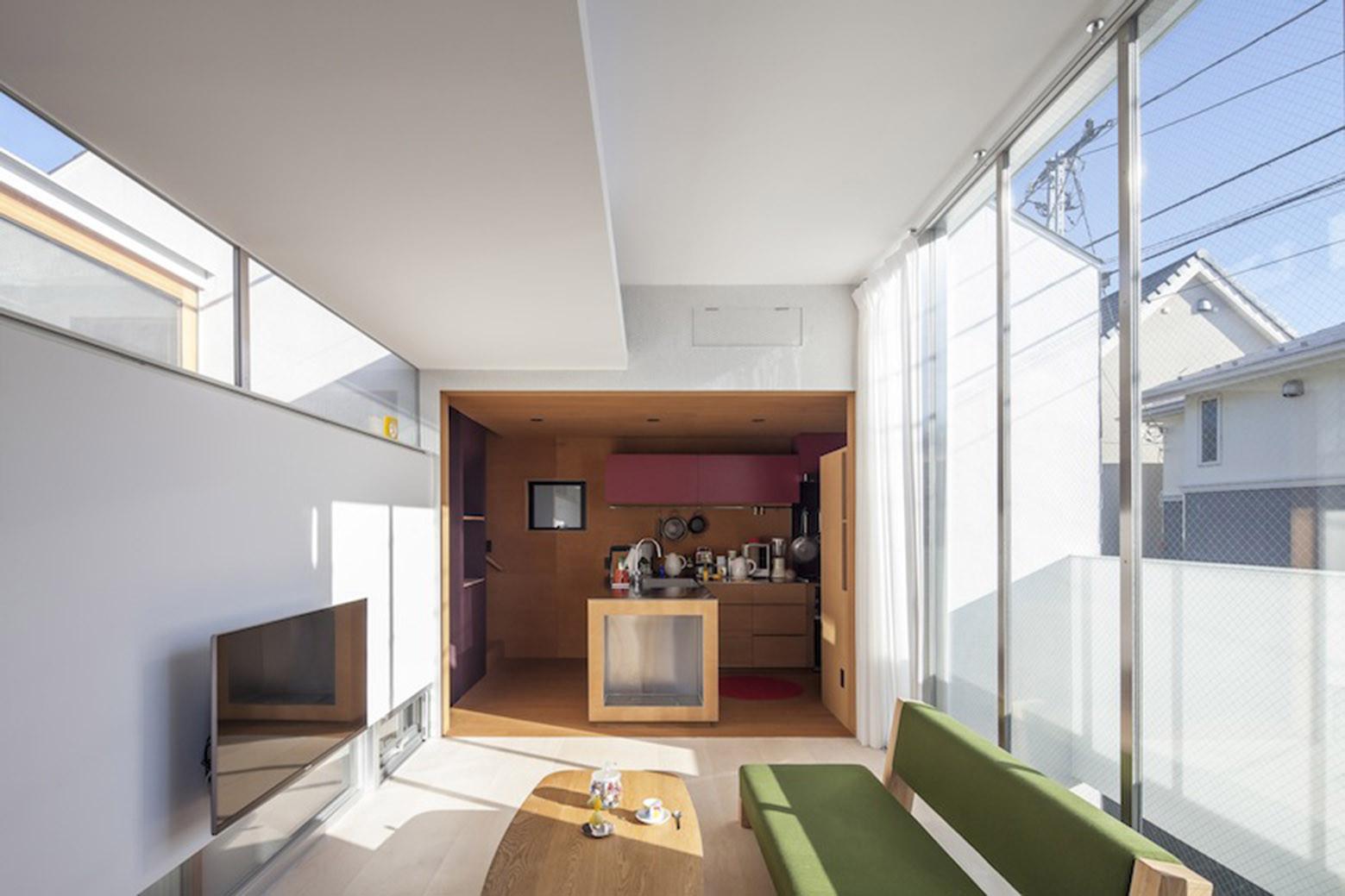 Sepa s shintaro matsushita takashi suzuki archdaily for Small room level 1