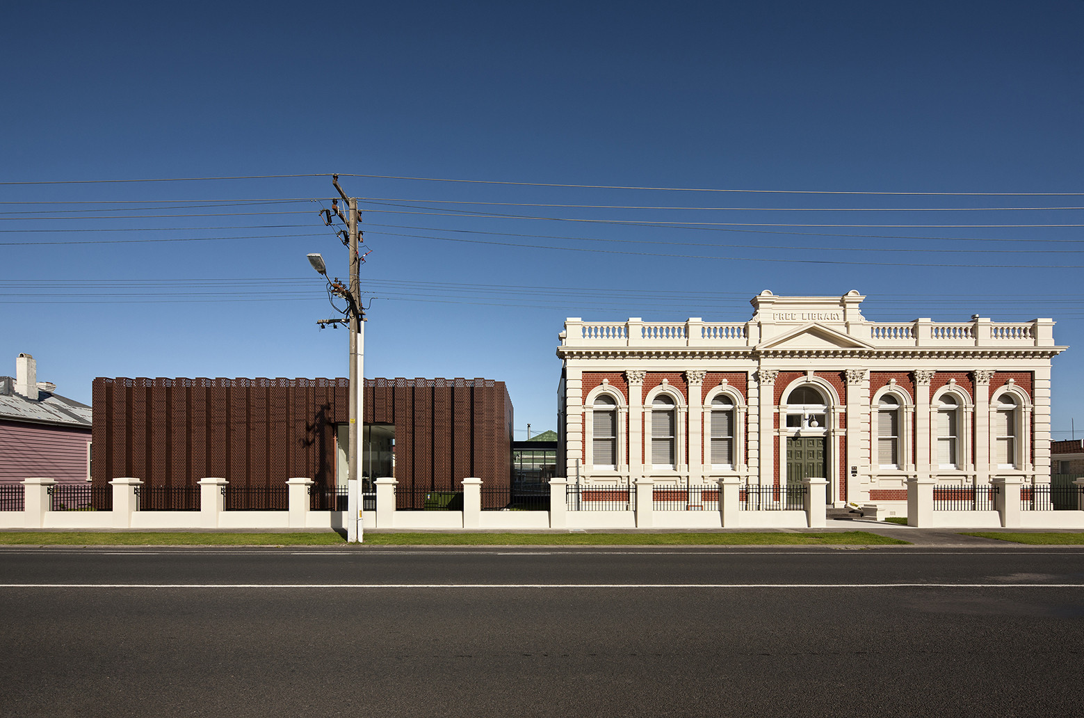 Centro de investigación y archivo The Treasury / Architectus, © Simon Devitt