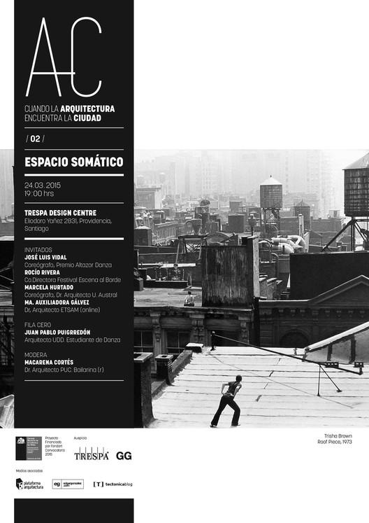 """'Arquitectura y Danza', segunda sesión de """"Cuando la Arquitectura Encuentra la Ciudad"""" / Santiago"""