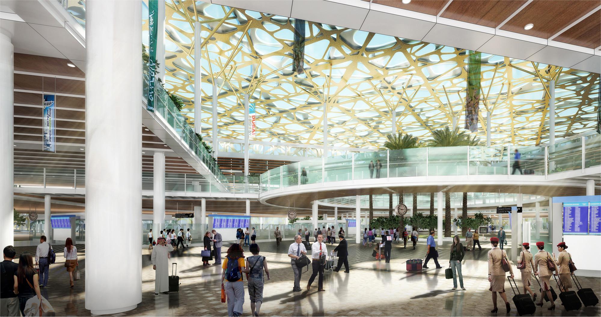 Leslie Jones Architecture To Design International Airport