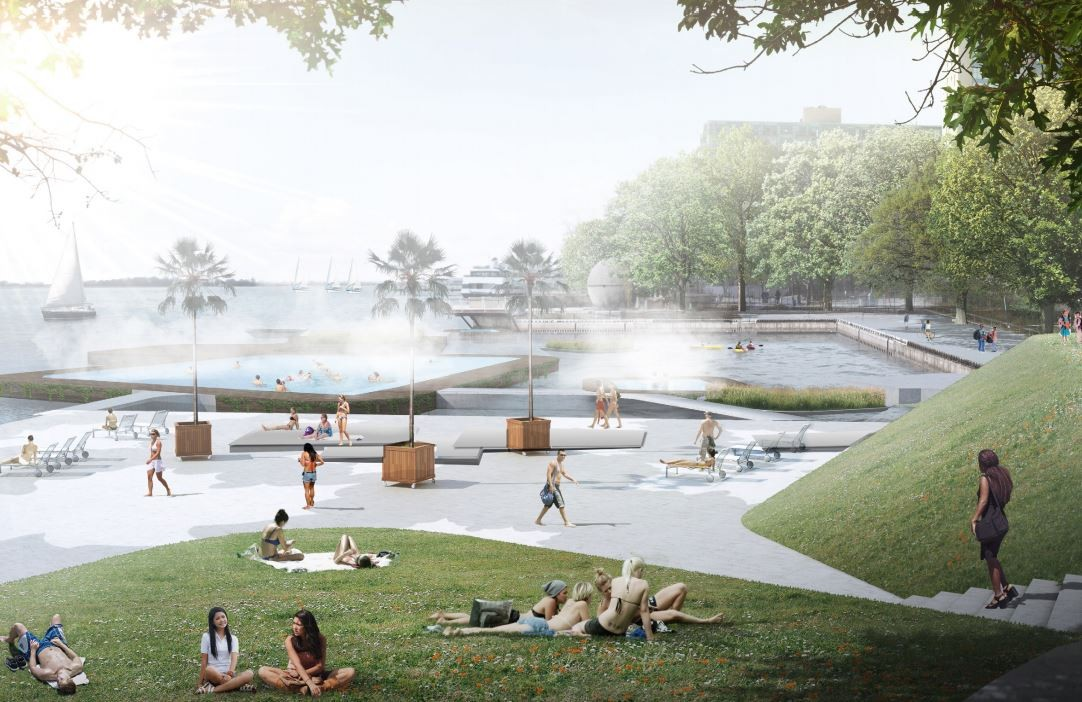 Stoss Landscape Urbanism, nARCHITECTS, ZAS Architects. Image Courtesy of WATERFRONToronto