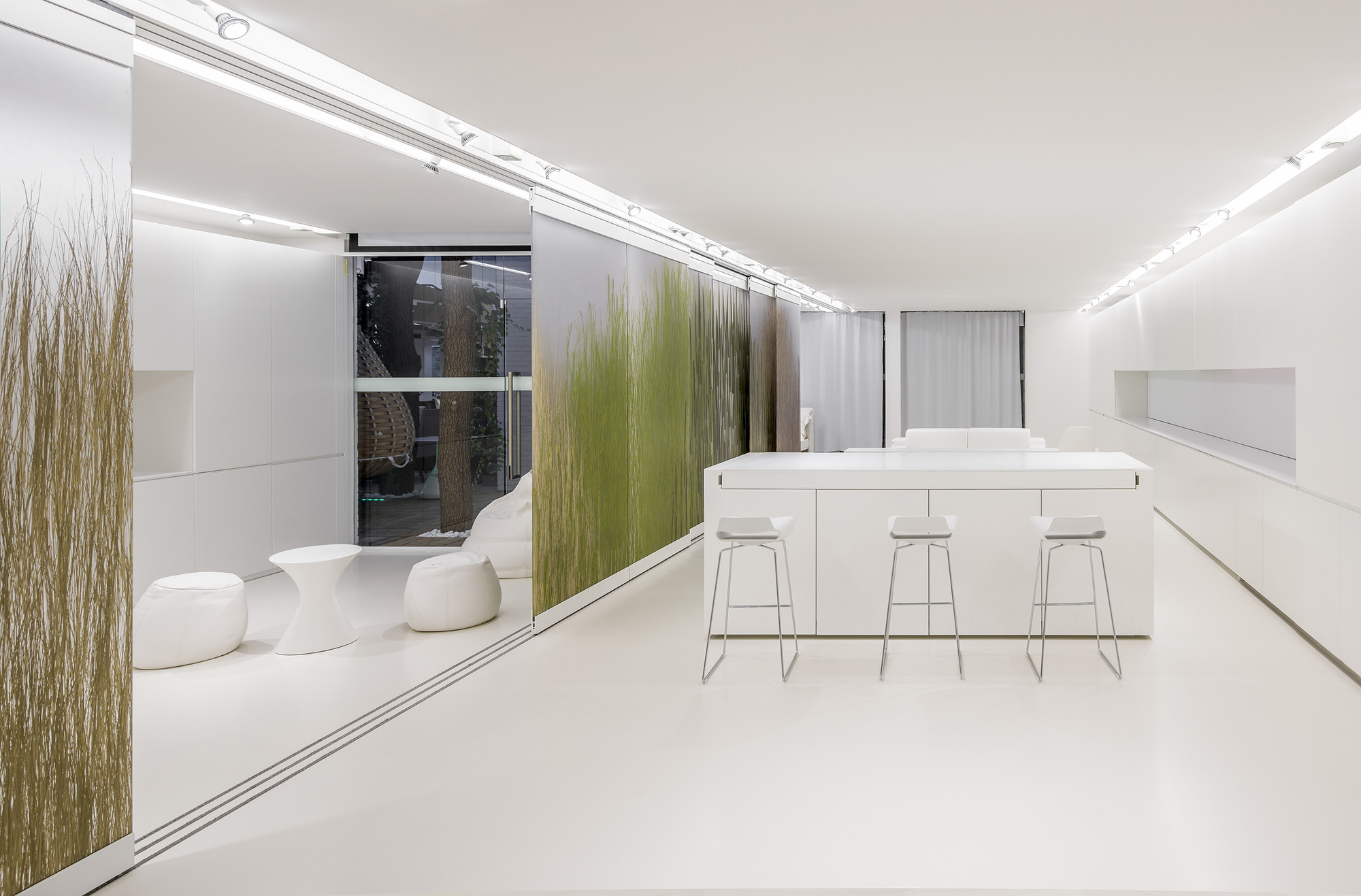 The apartment of the future r d laboratory for Salle a manger quartz
