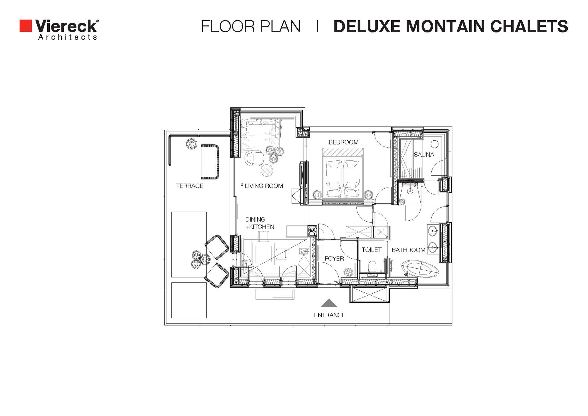 Gallery Of Deluxe Mountain Chalets / Viereck Architects