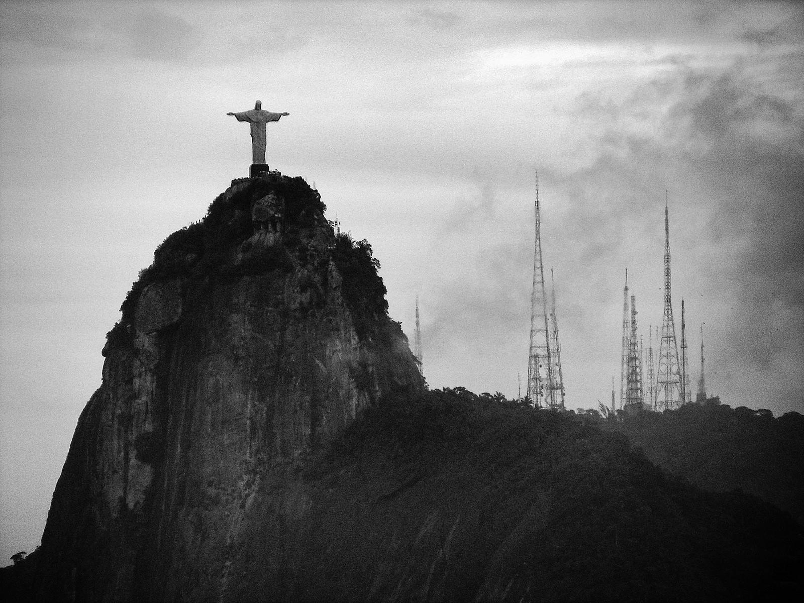 Mapeo en 3D del Cristo Redentor es realizado a través de drones, El Cristo Redentor en Rio de Janeiro. © Diego Torres Silvestre, via Flickr. CC