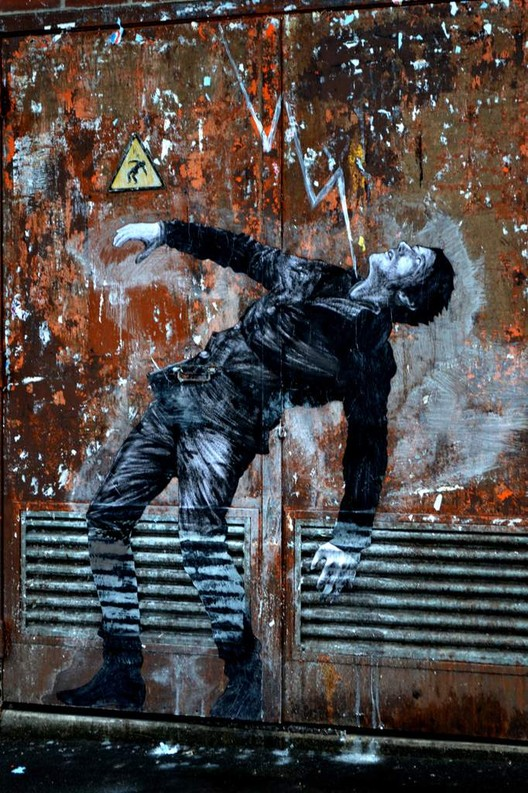Fate. Image © Levalet