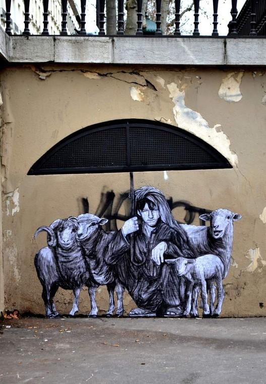 Pastorale. Image © Levalet