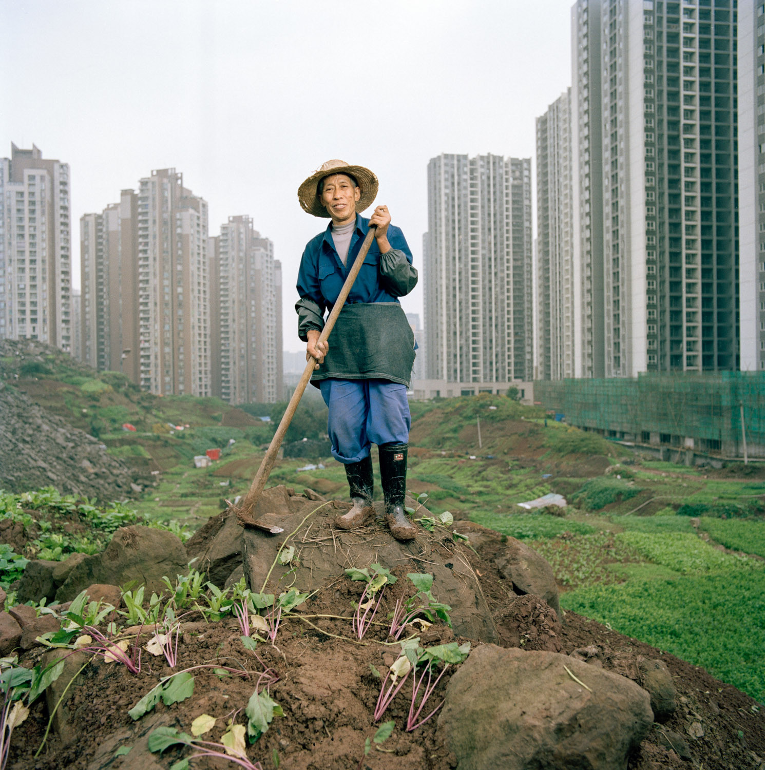Tim Franco Captures the Overscaled Urbanization of Chongqing, © Tim Franco