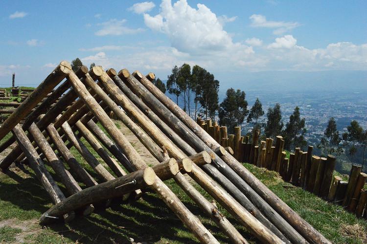 Mejorar el espacio comunitario 'con lo que hay': Parque Tambo del Inca, Objeto Terminado. Image Cortesía de Con lo que hay