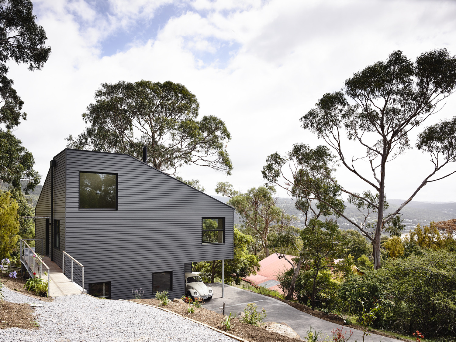Lorne Hill House / Will Harkness Architecture, © Derek Swalwell