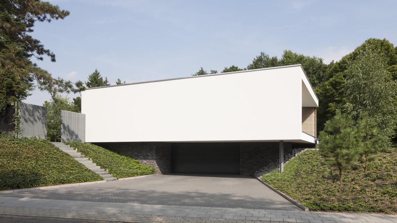 Villa spee lab32 architecten archdaily for Moderne villa architectuur