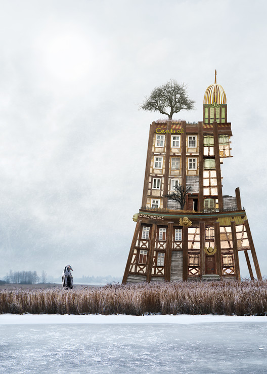 Zonenrandgebiet (a historic term for 'area adjacent to the Soviet zone'). Imagen © Matthias Jung