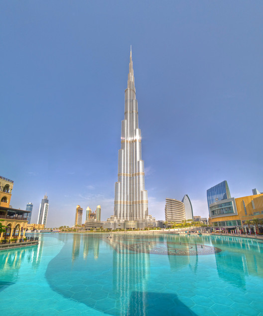 The World's Tallest Buildings Throughout History, Burj Khalifa. Image © Flickr CC user Colin Capelle
