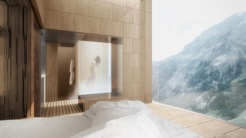 Suite. Imagen © Morphosis Architects