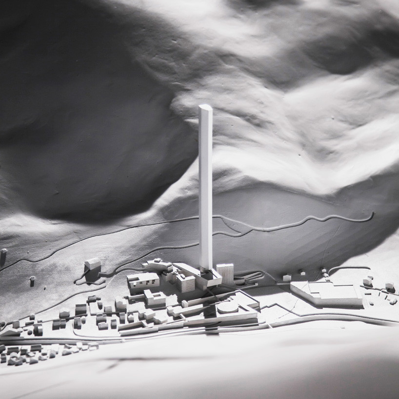 Modelo. Imagen © Morphosis Architects