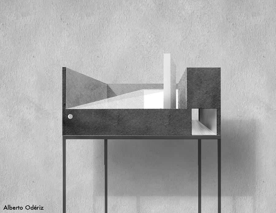 Propuesta de Alberto Odériz / Cortesía de Museo Experimental el Eco