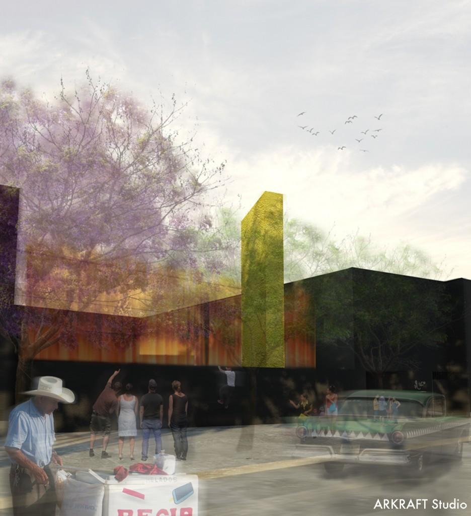 Propuesta de ARKRAFT / Cortesía de Museo Experimental el Eco