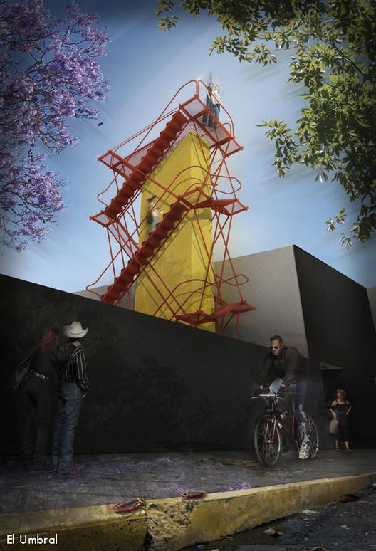 Propuesta de El Umbral / Cortesía de Museo Experimental el Eco