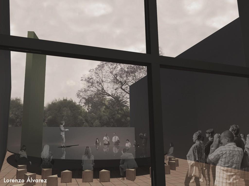 Propuesta de Lorenzo Álvarez / Cortesía de Museo Experimental el Eco