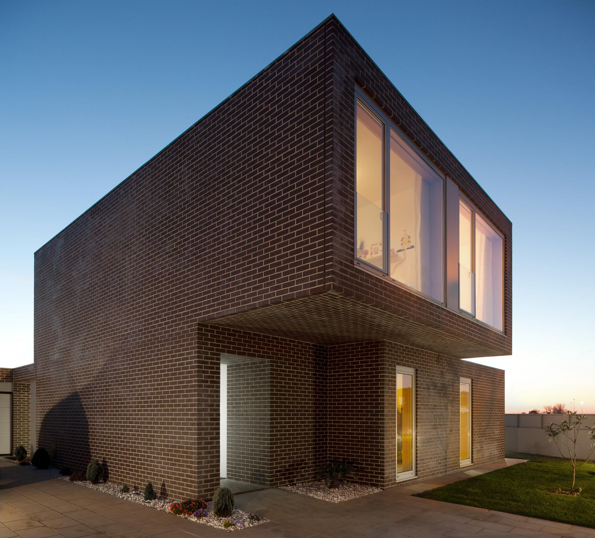 Casa hvm archdaily brasil for Casa moderna ladrillo