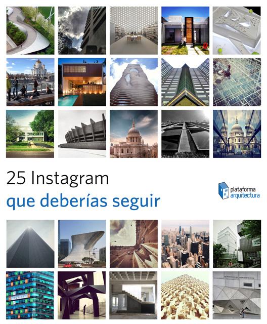 25 Cuentas de Instagram que deberías seguir ahora , Cortesia de archdaily