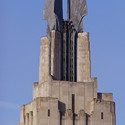 The aluminum-winged crown of the Times Square Building in Rochester, New York, is an icon of Art Deco architecture. Image © Wikipedia user Marduk