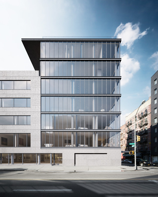 Images Released of Tadao Ando's First NYC Building, © Noë & Associates and The Boundary