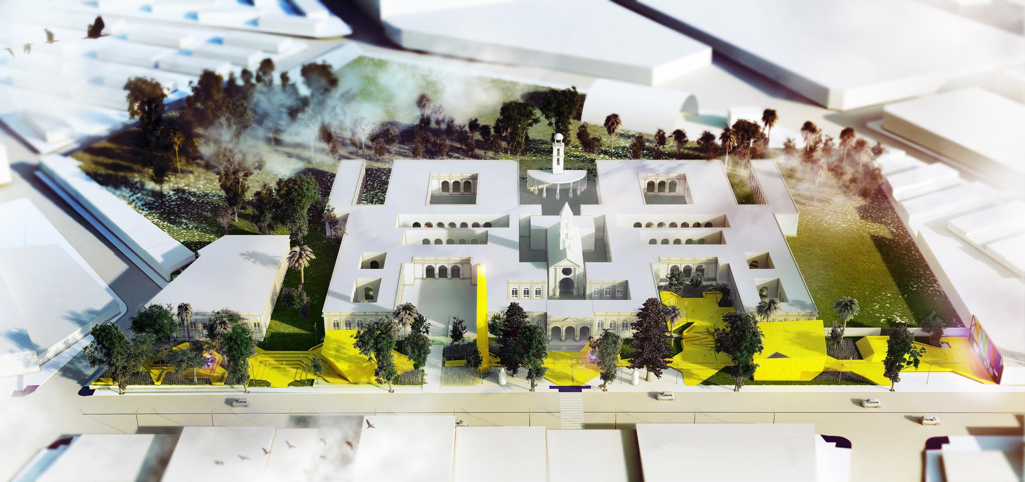 'Jardín Vilardebó', resignificación arquitectónica de la exclusión, el aislamiento y la corrección, Cortesia de Marcos Bracco y Nacho Correa