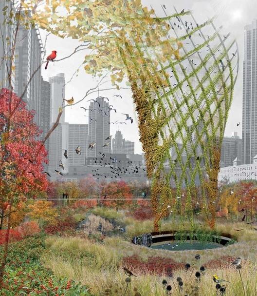 Birds in Horto / Hoerr Schaudt. Imagen cortesía de Chicago magazine